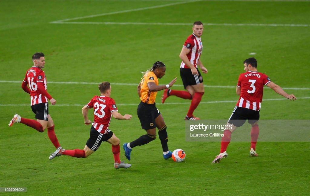 Sheffield United v Wolverhampton Wanderers - Premier League : News Photo