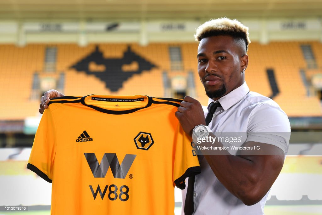 Wolverhampton Wanderers Unveil New Signing Adama Traore : News Photo