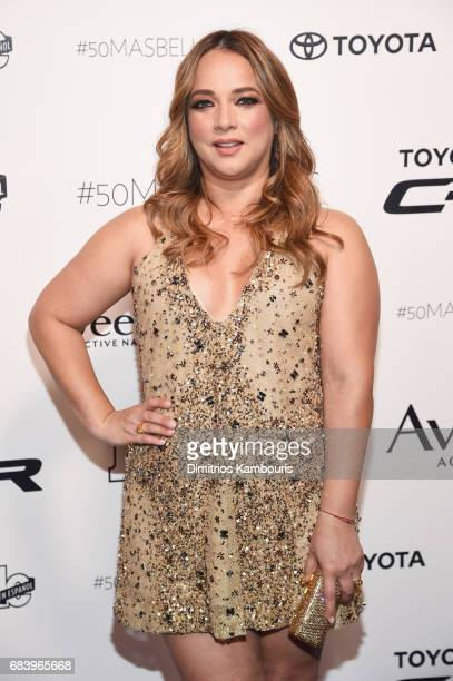 Adamari Lopez arrives at People en Espanol's 50 Most Beautiful Gala 2017 at Espace on May 16 2017 in New York City