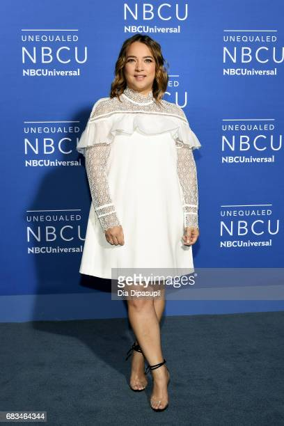 Adamari Lopez attends the 2017 NBCUniversal Upfront at Radio City Music Hall on May 15 2017 in New York City