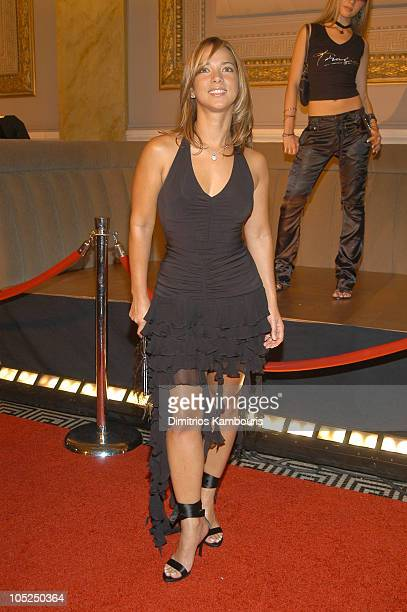 Adamari Lopez during 'Thalia's Big Night' Clothing Launch Arrivals at Capitale in New York City New York United States