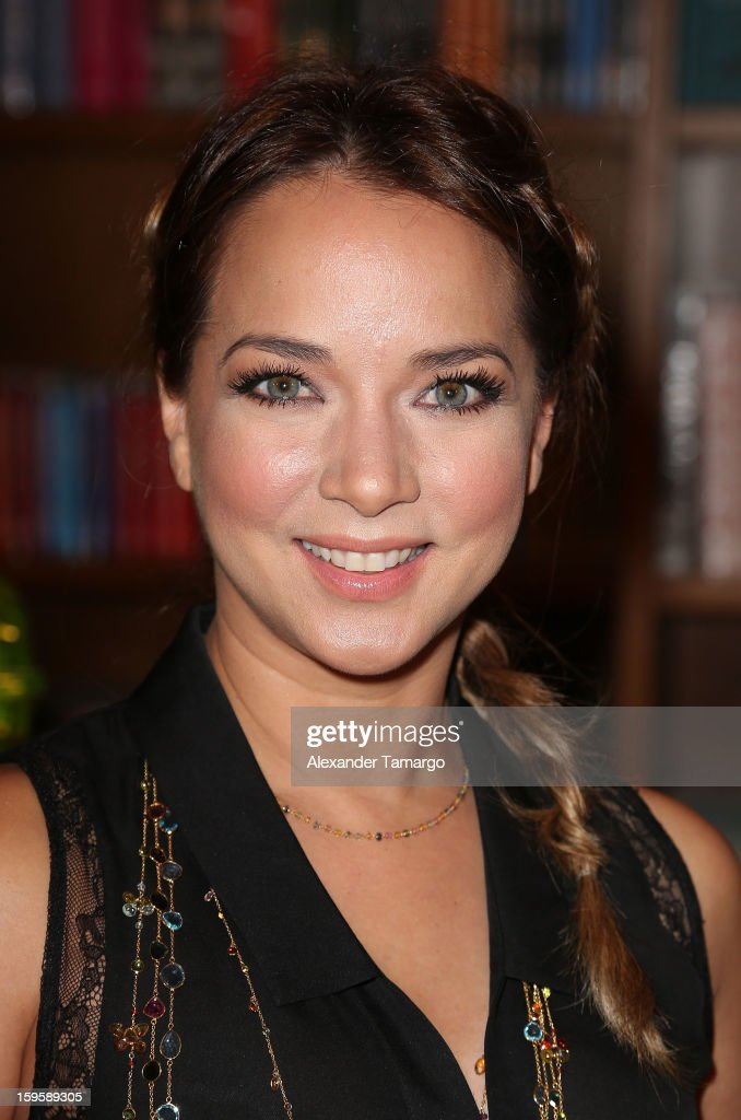 Adamari Lopez makes an appearance at Books and Books on January 16, 2013 in Coral Gables, Florida.