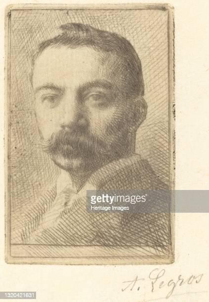 Adams, 3rd plate. Artist Alphonse Legros.