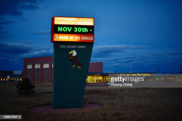 Adams City High School. November 28, 2018. The Colorado State Board of Education decided Tuesday to wrest most control of Commerce Citys struggling...