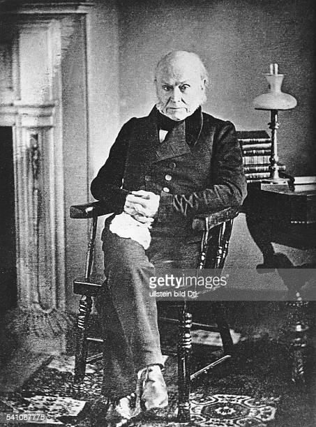 Adams, John Quincy*11.07.1767-23.02.1848+6. Praesident der USA 1825-1829- Portrait - undatiert