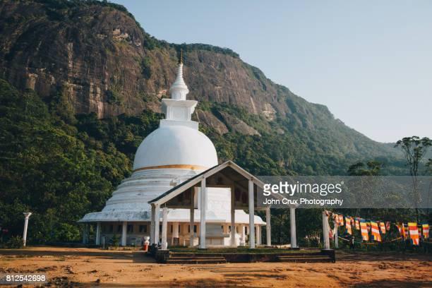 Adams peak pagoda