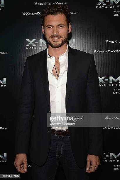 Adan Canto attends XMEN Days of Future Past Red Carpet Hosted by Adan Canto at Regal South Beach on May 19 2014 in Miami Florida