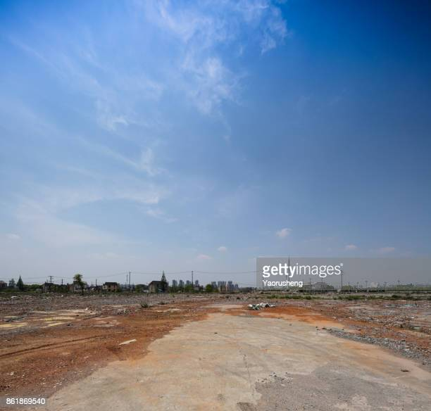 adandoned ground backgroud - abandoned stock pictures, royalty-free photos & images