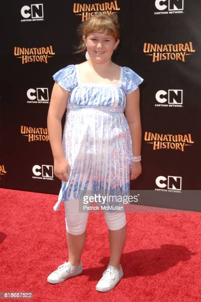 AdaNicole Sanger attends Cartoon Network Hosts RedCarpet World Premiere of 'Unnatural History' at Steven J Ross Theater on June 12 2010 in Warner...