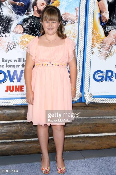 AdaNicole Sanger attends COLUMBIA PICTURES Present a Special Screening of GROWN UPS at Ziegfeld Theatre on June 23 2010 in New York City