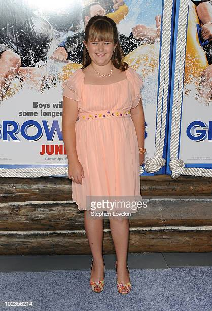 AdaNicole Sanger attends the premiere of 'Grown Ups' at the Ziegfeld Theatre on June 23 2010 in New York City