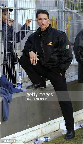 Adans Lopez Peres In Monaco on January 19 2004