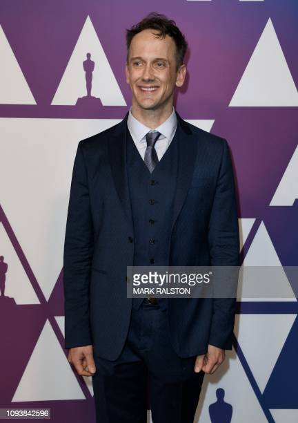 Adapted screenplay for Can You Ever Forgive Me writer Jeff Whitty arrives for the 91st Oscars Nominees Luncheon at the Beverly Hilton hotel on...
