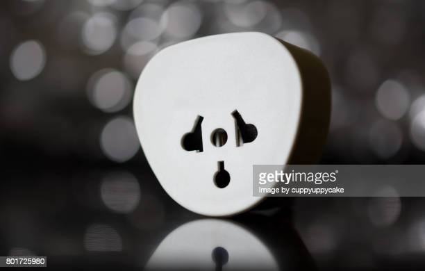 adapter converter - pareidolia stock pictures, royalty-free photos & images