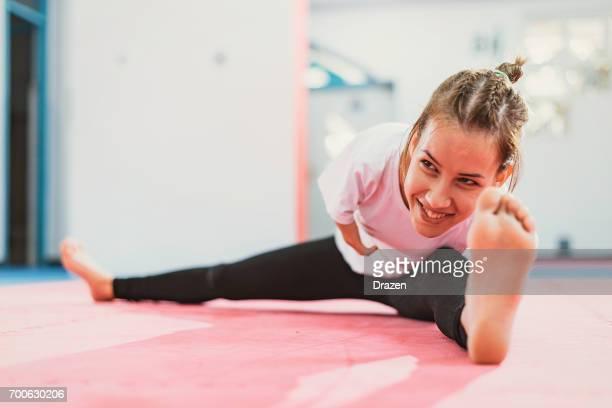 Adaptive Athlet erstreckt sich auf die Ausbildung