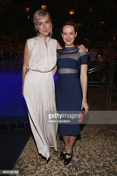 Adarsha Benjamin and Jena Malone attend Sara Von Kienegger and Art of Elysium Host Los Angeles Gallery MAMA's Presentation Of Ryan Heffington's...