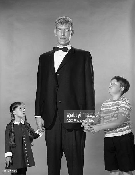 FAMILY Addams Family Gallery Season One 6/30/64 Lurch with Pugsley and Wednesday