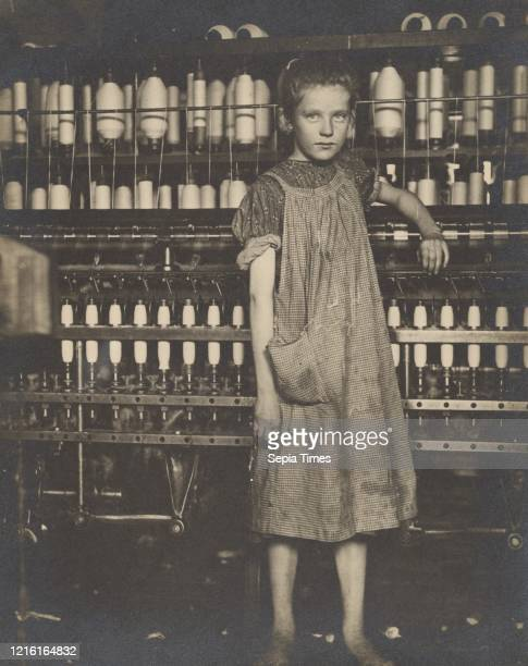 Addie Card 12 years Spinner in North Pownal Cotton Mill Girls in mill say she is ten years She admitted to me she was twelve that she started during...