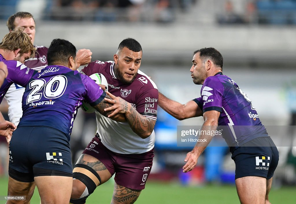 NRL Rd 16 - Storm v Sea Eagles : ニュース写真