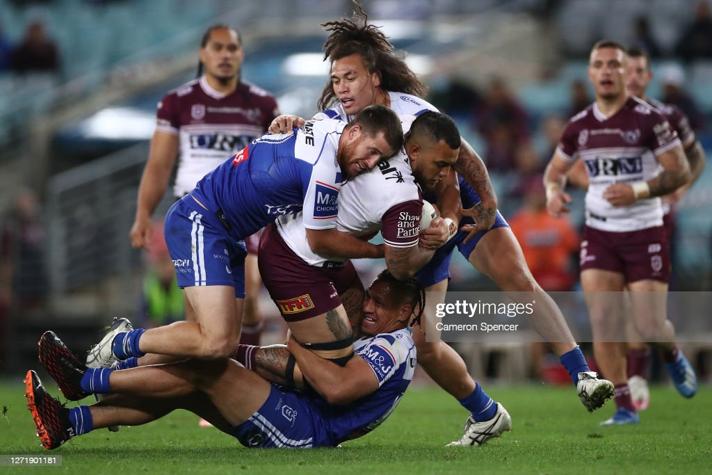 NRL Rd 18 - Bulldogs v Sea Eagles : News Photo