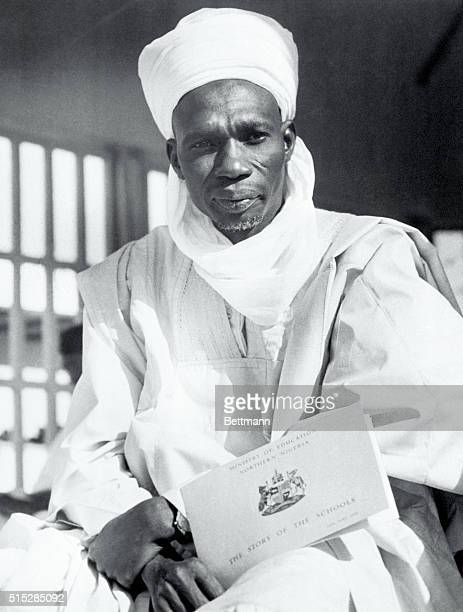 Premier Sir Abubakar Tafawa Balewa of Nigeria at African Summit Conference