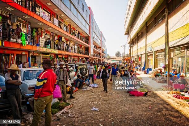 Addis Mercato, Addis Ababa, Ethiopia - December 1, 2017