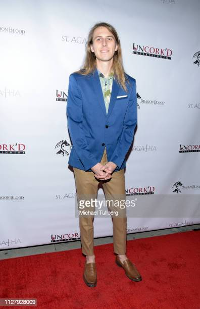 """Addison Born attends the premiere of Uncork'd Entertainment's """"St. Agatha"""" at Ahrya Fine Arts Movie Theater on February 06, 2019 in Beverly Hills,..."""