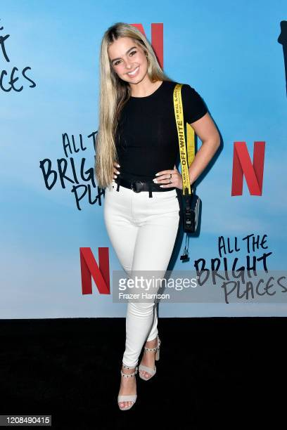 Addison Rae attends the Special Screening of Netflix's All The Bright Places at ArcLight Hollywood on February 24 2020 in Hollywood California