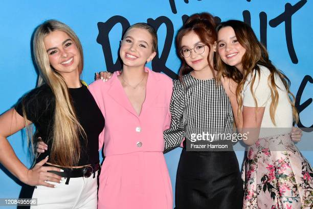 Addison Rae Lilia Buckingham Anna Cathcart and Annie LeBlanc attend the Special Screening of Netflix's All The Bright Places at ArcLight Hollywood on...