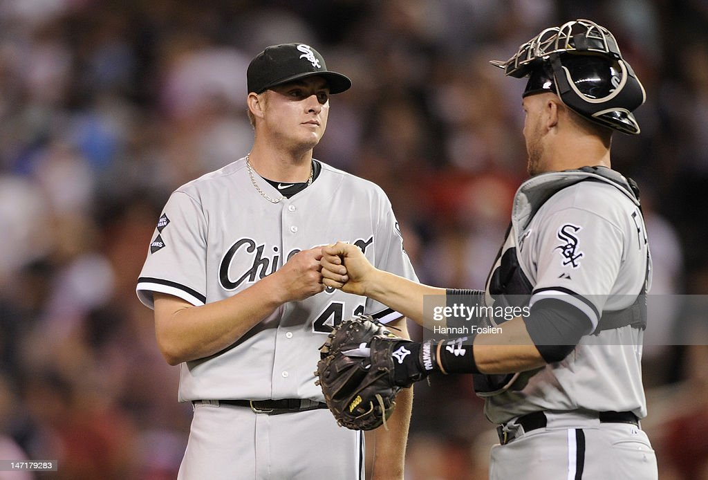 Chicago white sox v minnesota twins photos and images getty images addison reed 43 and tyler flowers 17 of the chicago white sox celebrate a mightylinksfo Choice Image