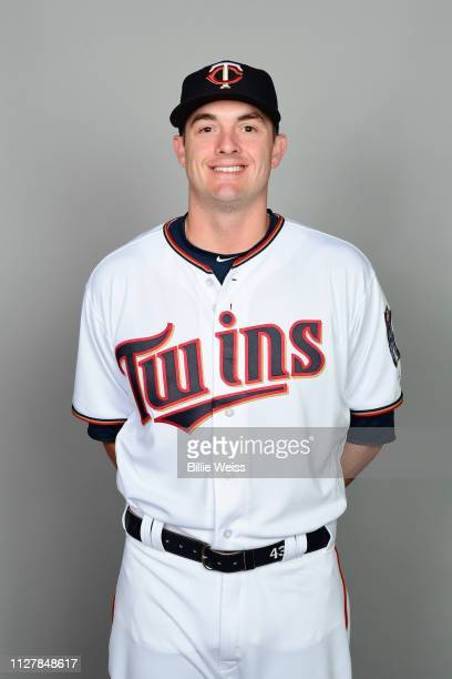 Addison Reed of the Minnesota Twins poses during Photo Day on Friday February 22 2019 at CenturyLink Sports Complex in Fort Myers Florida