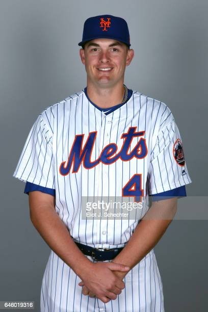 Addison Reed of the New York Mets poses during Photo Day on Wednesday February 22 2017 at Tradition Field in Port St Lucie Florida