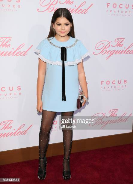 Addison Riecke attends the premiere of 'The Beguiled' on June 12 2017 in Los Angeles California