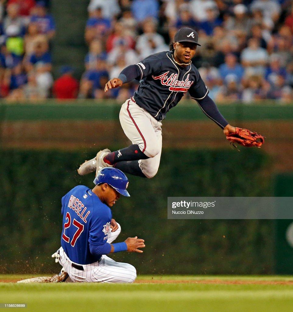 Atlanta Braves v Chicago Cubs : News Photo