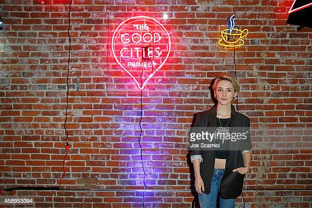 Addison Timlin attends The GOOD City Index Launch Event in collaboration with Ford at The Unique Space on November 13 2014 in Los Angeles California