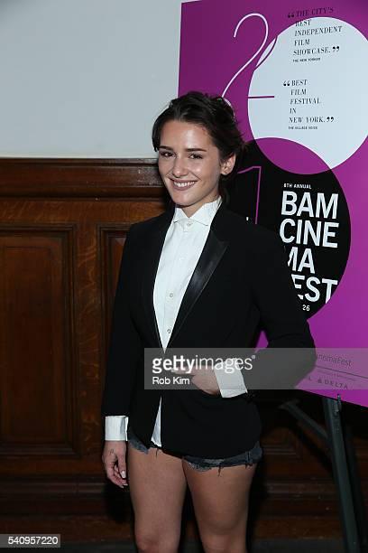 Addison Timlin attends the premiere of Little Sister during BAMcinemaFest 2016 at BAM Rose Cinemas on June 17 2016 in New York City