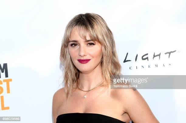 Addison Timlin attends the screening of Submission during the 2017 Los Angeles Film Festival at Arclight Cinemas Culver City on June 19 2017 in...