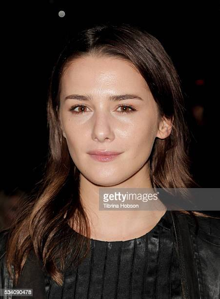 Addison Timlin attends the Wolk Morais Collection 3 Fashion Show at The Standard Hollywood on May 24 2016 in West Hollywood California