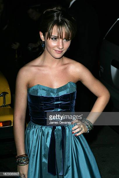 Addison Timlin during Derailed New York City Premiere After Party at Ziegfeld Theater in New York City New York United States