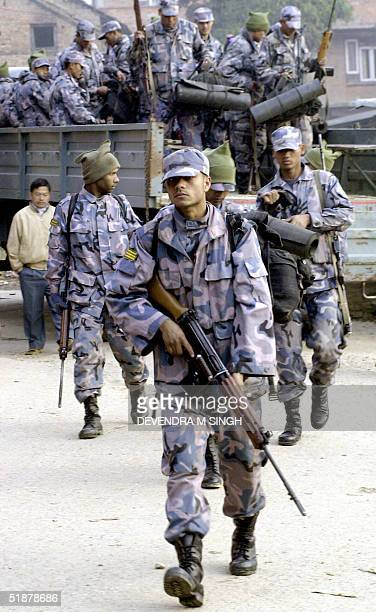 Nepalese Armed Police Force Stock Pictures, Royalty-free Photos ...