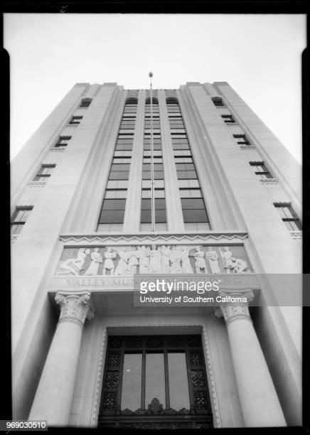 Additional views of Van Nuys city hall 14410 Sylvan Street Los Angeles California 1933