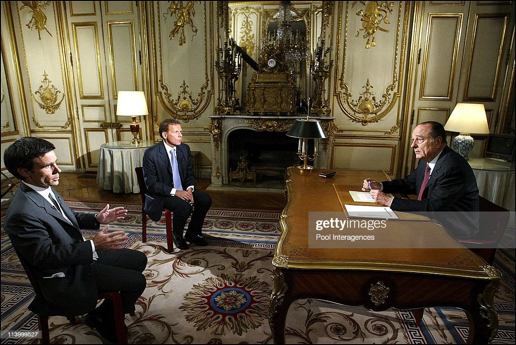 TV address of French President Jacques Chirac on the Iraqi crisis In