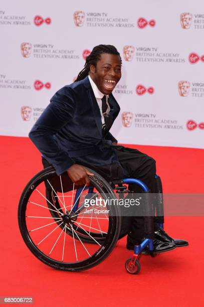 Ade Adepitan attends the Virgin TV BAFTA Television Awards at The Royal Festival Hall on May 14 2017 in London England