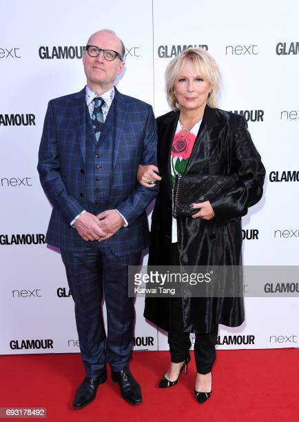 Ade Edmondson and Jennifer Saunders attend the Glamour Women of The Year Awards 2017 at Berkeley Square Gardens on June 6 2017 in London England