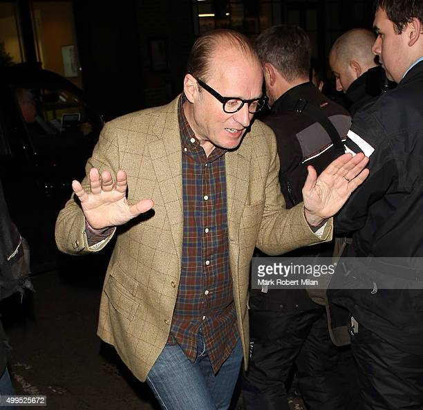 Ade Edmondson attending the Absolutely Fabulous film Wrap party at U restaurant on December 1 2015 in London England