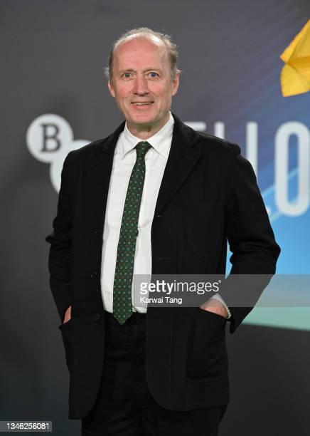 """Ade Edmondson attends """"The Phantom Of The Open"""" World Premiere during the 65th BFI London Film Festival at The Royal Festival Hall on October 12,..."""