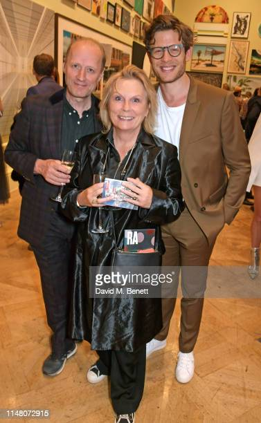Ade Edmondson Jennifer Saunders and James Norton attend The Royal Academy Of Arts Summer Exhibition preview party on June 4 2019 in London England