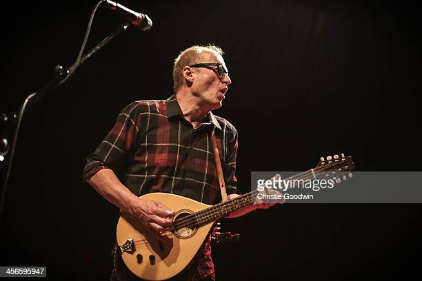 Ade Edmondson of The Bad Shepherds performs on stage at Shepherds Bush Empire on December 14 2013 in London United Kingdom