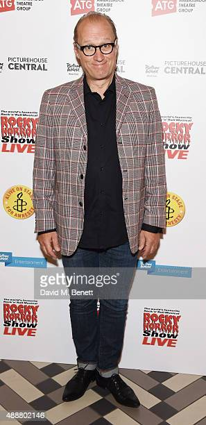 Ade Edmonso attends the after party following the gala charity performance of 'Rocky Horror Show' at Picturehouse Central on September 17 2015 in...