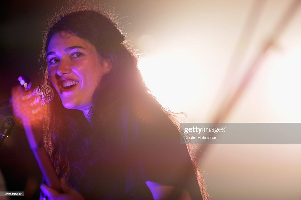 Ade Martin of Hinds performs onstage at the Hype/Gorilla vs. Bear showcase during the 2015 SXSW Music, Film + Interactive Festivale at Hype Hotel on March 19, 2015 in Austin, Texas.